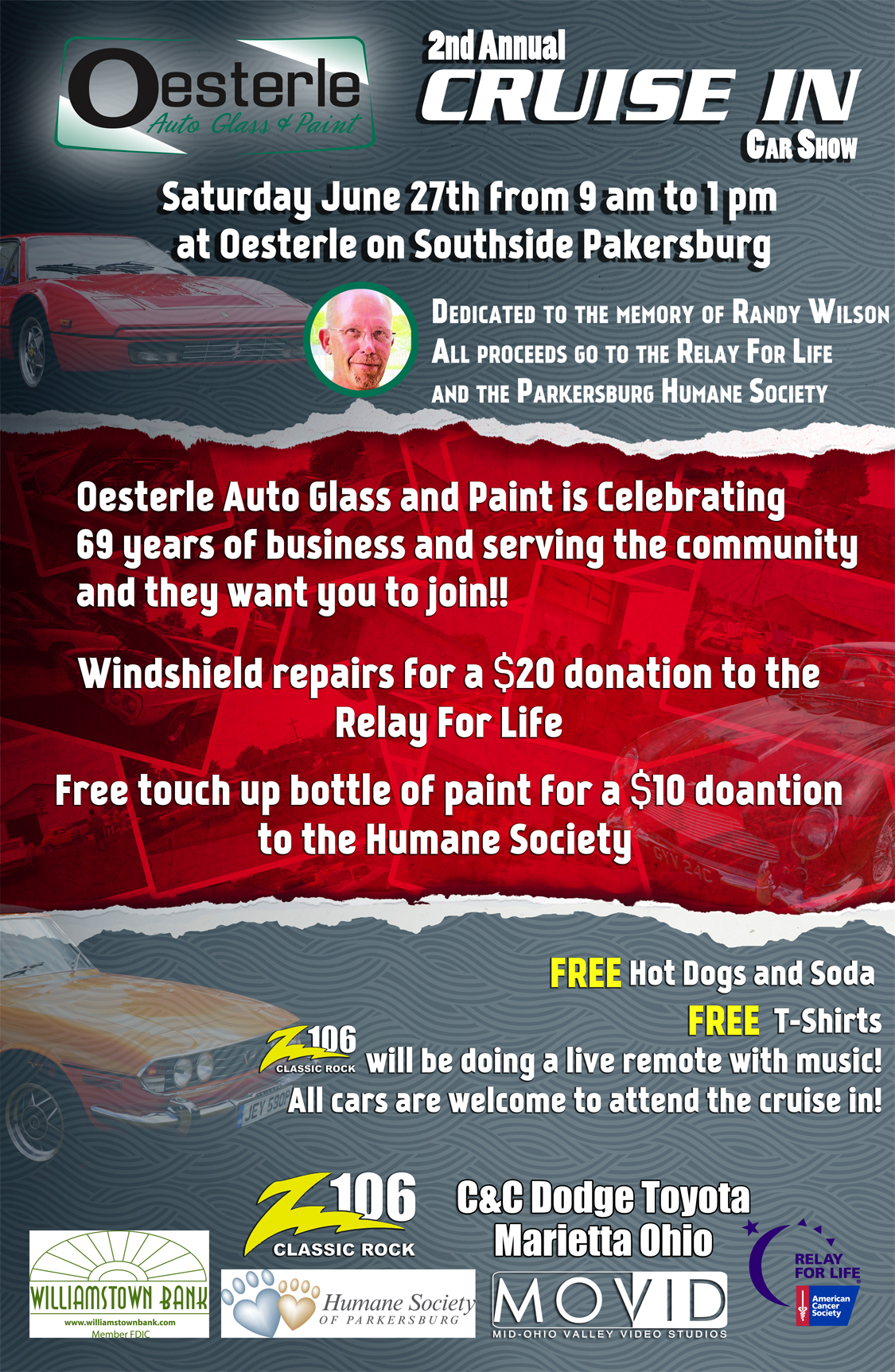 2015 Curise-In Car Show - Oesterle Auto Glass and Paint